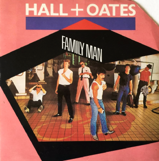"Daryl Hall & John Oates ‎- Family Man (7"") (G+/G+)"